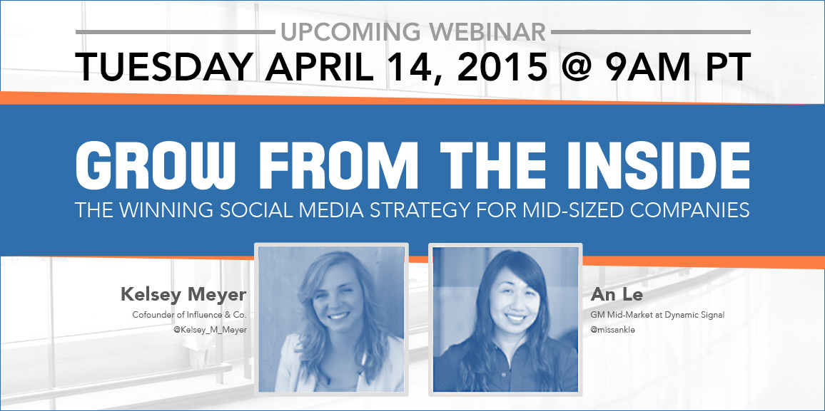 Webinar The Winning Social Media Strategy for Mid-Sized Companies