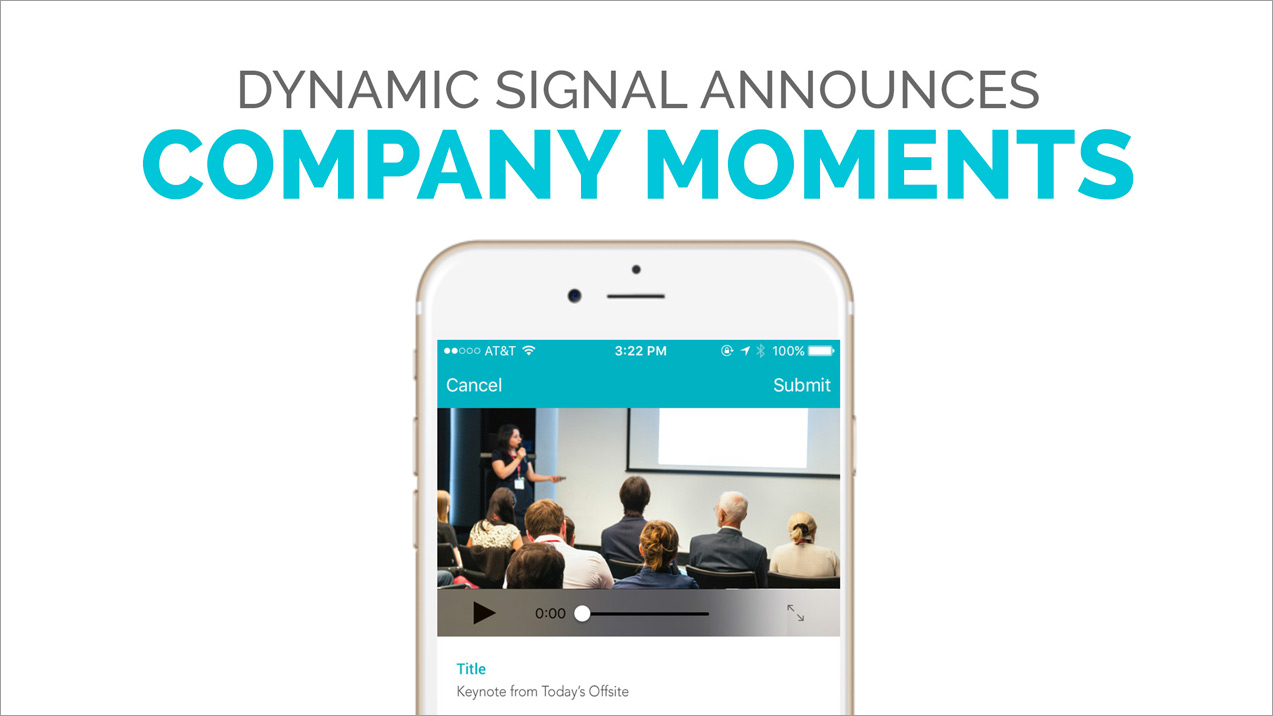 Announcing Company Moments: Engage With Your Employees Using Native Video