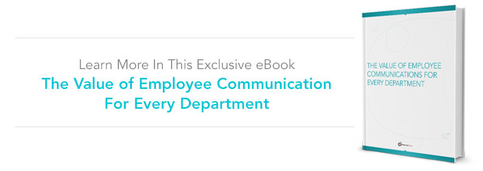 The Value of Employee Communications for Every Department eBook