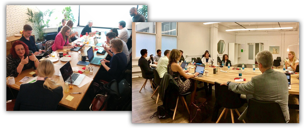 Dynamic Signal recently held Customer Advisory Board meetings in San Francisco, New York, and London