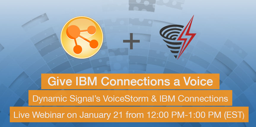 IBM Connections Webcast