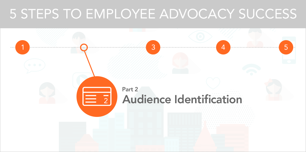 5 Steps to Employee Advocacy Success Audience Identification