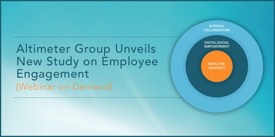 Altimeter Group Unveils New Study on Employee Engagement