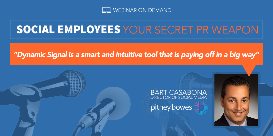 Social Employees Your Secret PR Weapon