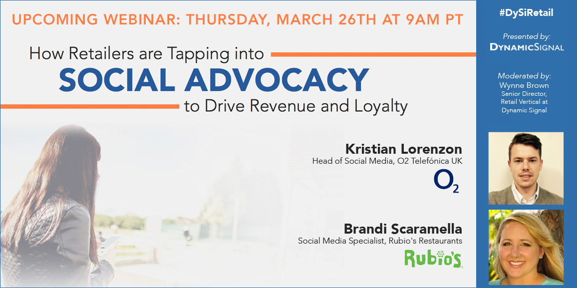 Webinar How Retailers are Tapping Into Social Advocacy
