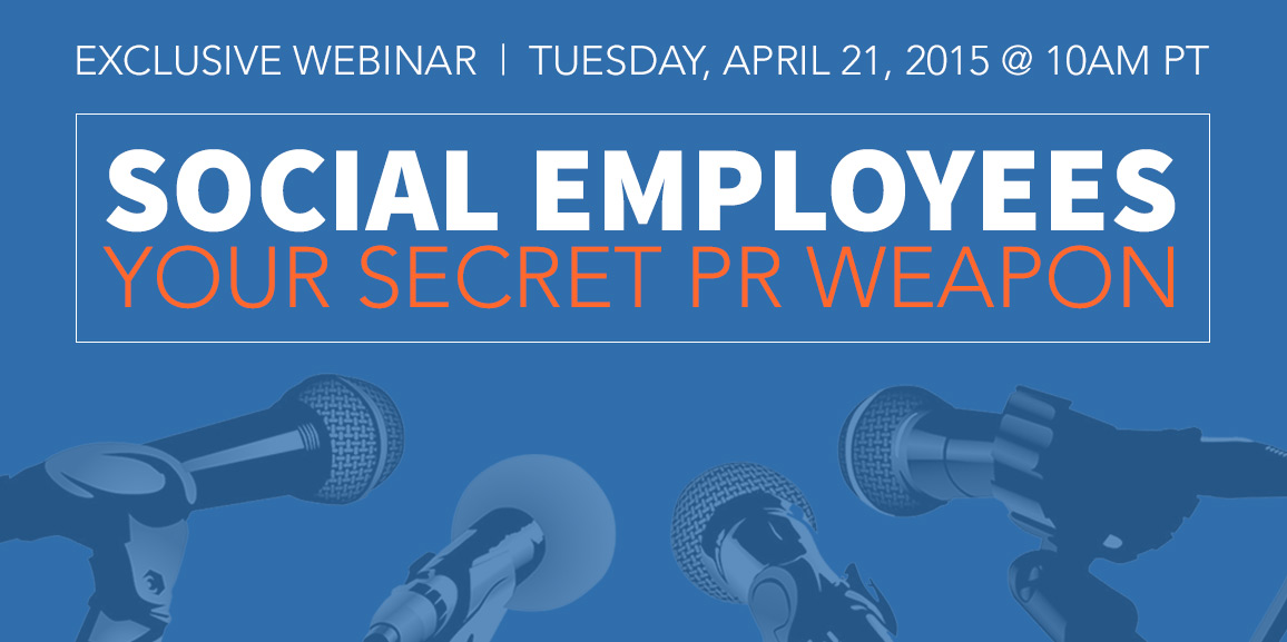 Webinar Social Employees Your Secret PR Weapon