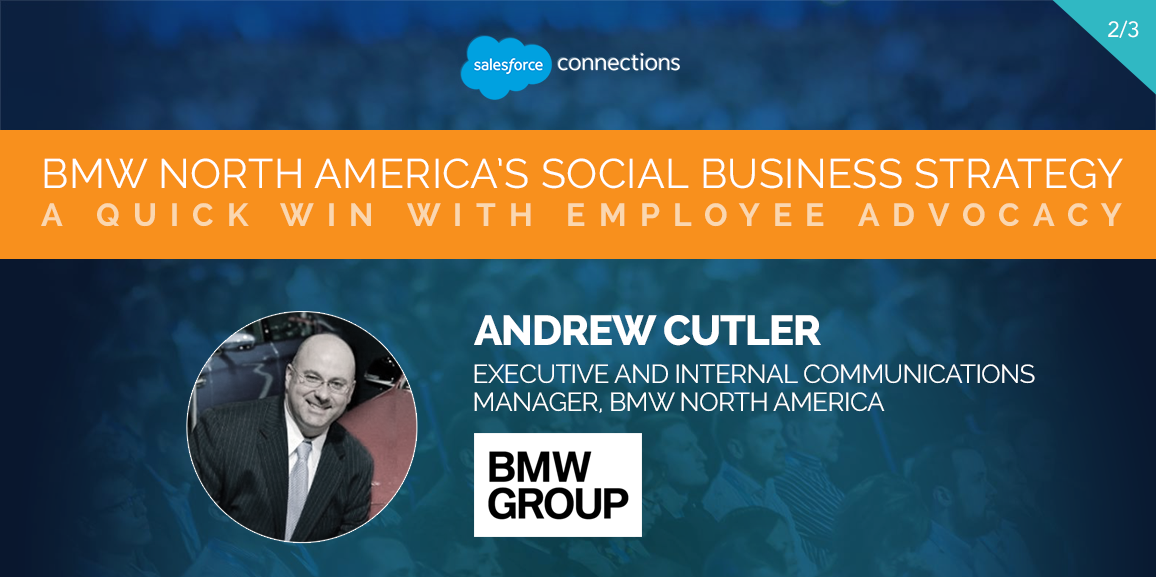 BMW North America's Social Business Strategy A Quick Win with Employee Advocacy 2 of 3