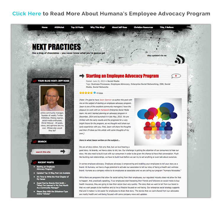 Humana Taps Employees as Story Tellers for their Brand