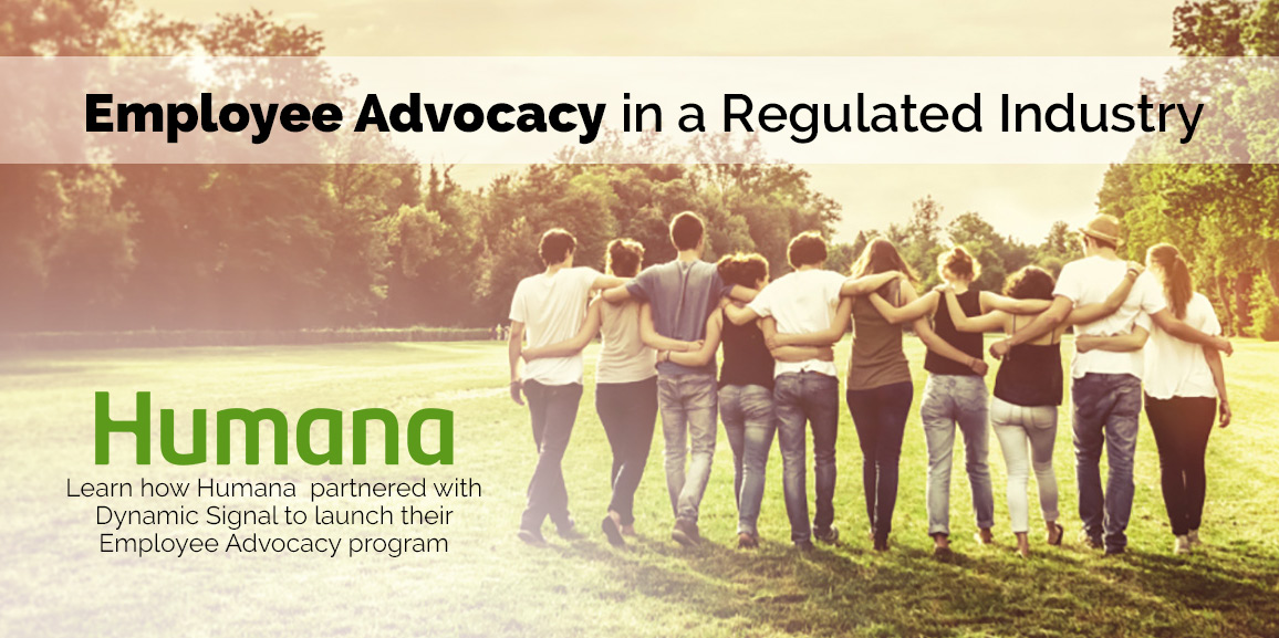 Employee Advocacy in a Regulated Industry