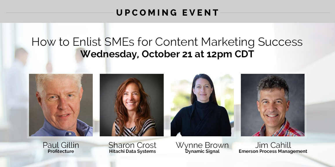 How to Enlist SMEs for Content Marketing Success