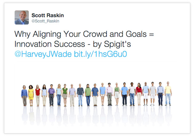Why Aligning Your Crowd and Goals=Innovation Success