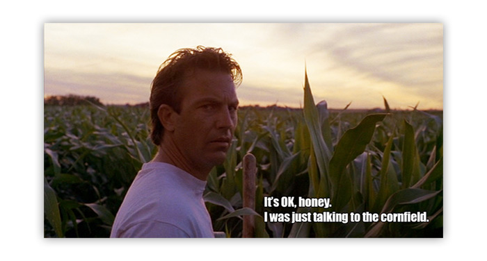 """Today's Content is no """"Field of Dreams"""""""