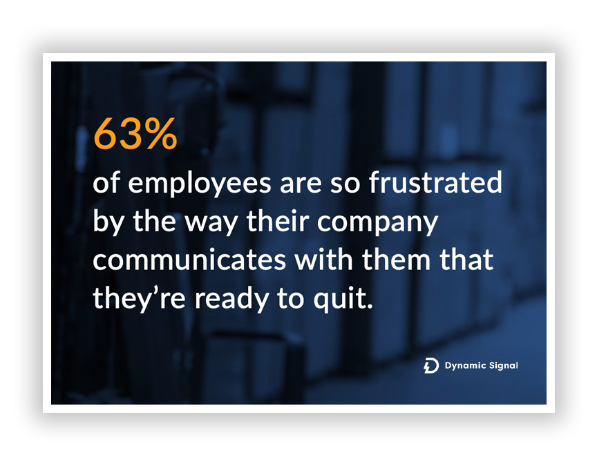 Frustrated Employees